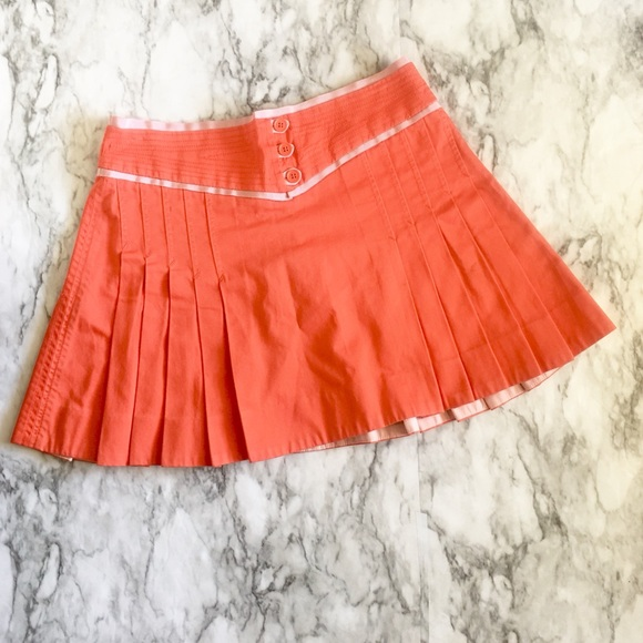 Marc Jacobs Dresses & Skirts - Marc Jacobs Pink Pleated Silk Skirt